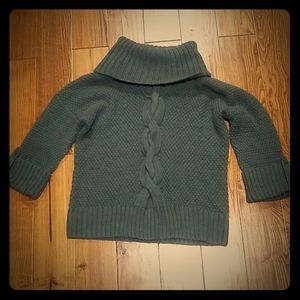 Talbots Cowl Neck wool and alpaca sweater